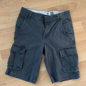 Old Navy Gray Cargo Shorts Size 10